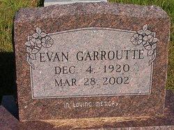 Evan Garroutte