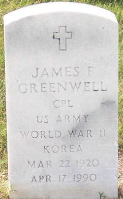 CPL James F Greenwell
