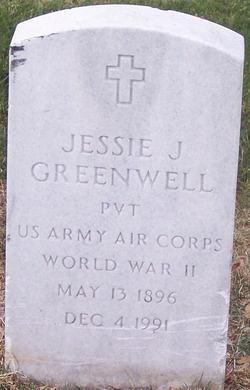PVT Jessie J Greenwell
