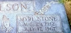 Mrs Myrl Louise <i>Stone</i> Wilson