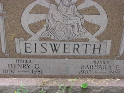 Barbara E <i>Brunst</i> Eiswerth