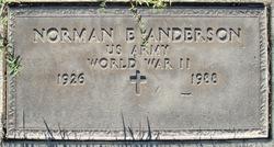 Norman E Anderson
