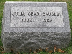 Julia <i>Gear</i> Bauslin