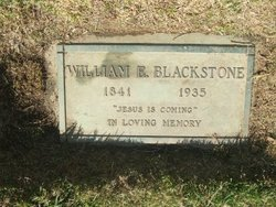 Rev William E. Blackstone
