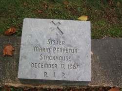 Sr Maria Perpetua Stackhouse