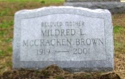 Mildred L <i>McCracken</i> Brown
