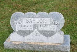 Frances A Baylor
