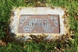 Luetta M. Gehrig