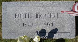 Ronnie McKnight