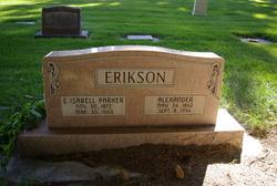 Elizabeth Isabell <i>Parker</i> Erikson