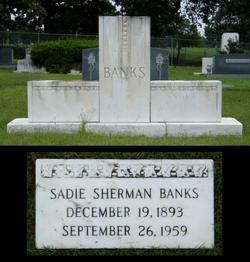 Sadie <i>Sherman</i> Banks