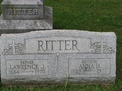 Anna <i>Haefner</i> Ritter