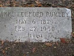Anne <i>Fulford</i> Rumley
