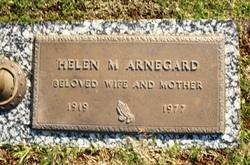 Helen M Arnegard