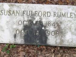 Susan <i>Fulford</i> Rumley