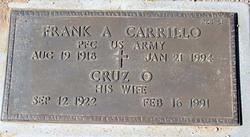 Frank A Carrillo