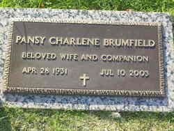 Pansy Charlene <i>Johnston</i> Brumfield