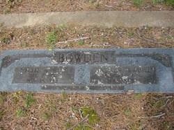 Nellie Myrtle <i>Burks</i> Bowden