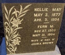 Nellie May <i>Berkey</i> Brown