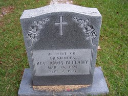 Rev Amos Bellamy