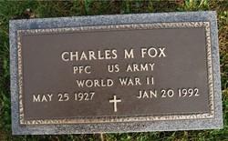 PFC Charles M Fox