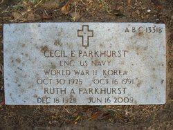 Cecil Eugene Parkhurst