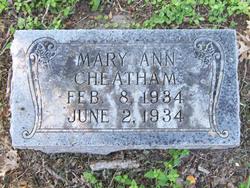 Mary Ann Cheatham