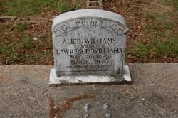 Alice Louvena A.V. <i>Hammonds</i> Williams