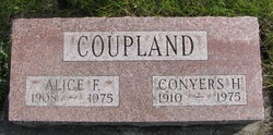 Alice F <i>Hagaman</i> Coupland