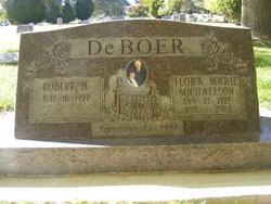Flora Marie <i>Michaelson</i> DeBoer