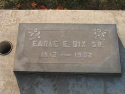 Earl Edward Dix