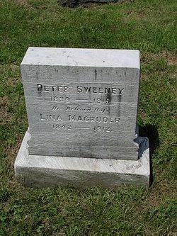 Ann Selina Lina <i>Magruder</i> Sweeney