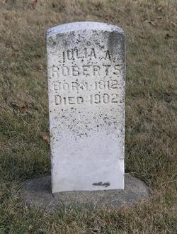 Julia A <i>Burton</i> Roberts