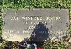 PFC Jay Winfred Jones