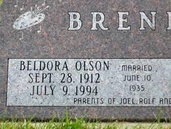 Beldora Cecilia <i>Olson</i> Brende