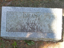 Infant boy Bostick