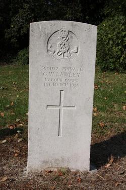 Pvt G. W. Lawley