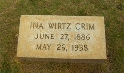 Ina <i>Wirtz</i> Crim