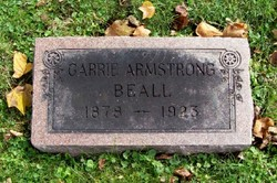 Carrie B. <i>Armstrong</i> Beall