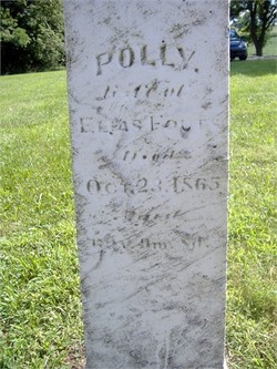Mary Polly <i>Schaeffer</i> Fouts