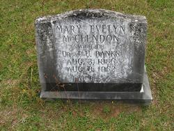 Mary Evelyn <i>McClendon</i> Banks