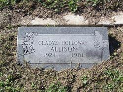 Gladys <i>Holloway</i> Allison