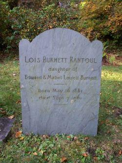 Lois <i>Burnett</i> Rantoul