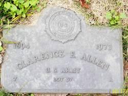Clarence E Allen