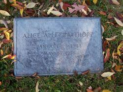 Alice Allegra Thorp