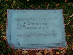 Anne Allegra Annie <i>Longfellow</i> Thorp