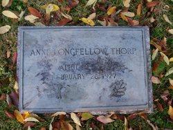Annie Longfellow Thorp