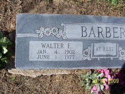 Walter Estel Barber