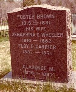 Seraphina C. <i>Wheeler</i> Brown