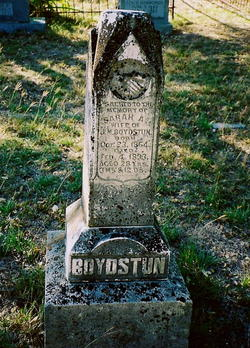 Sarah Adna <i>Burke</i> Boydstun